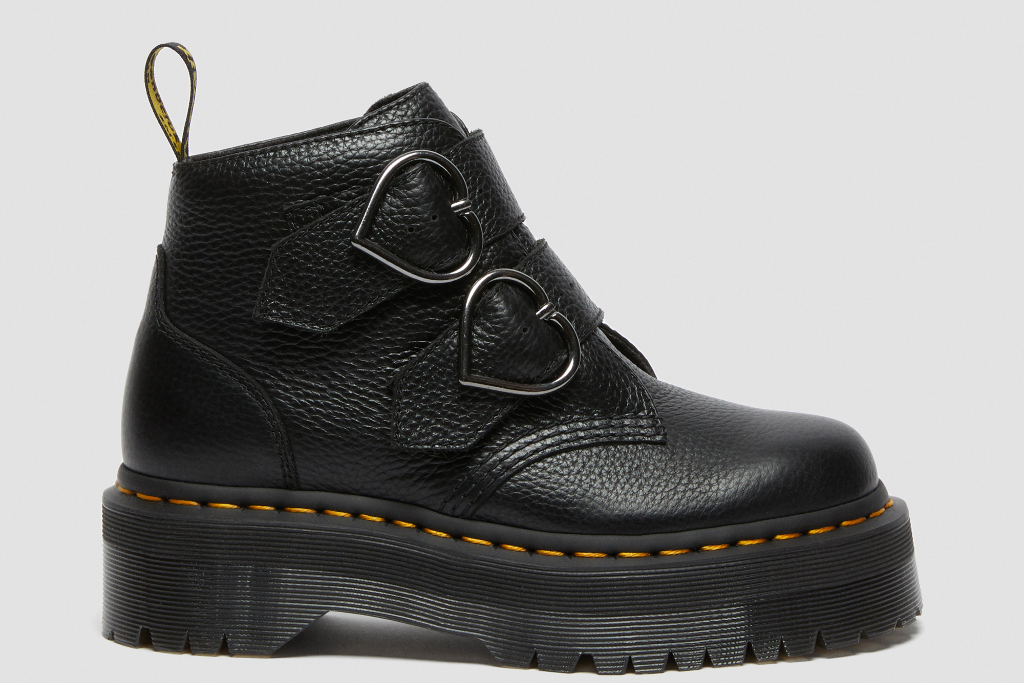 Dr. Martens, Devon Heart Boot, black