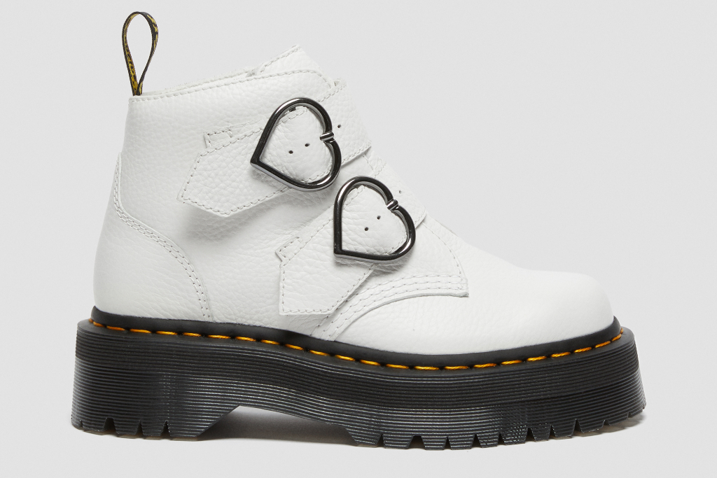 Dr. Martens, Devon Heart, Boot, white