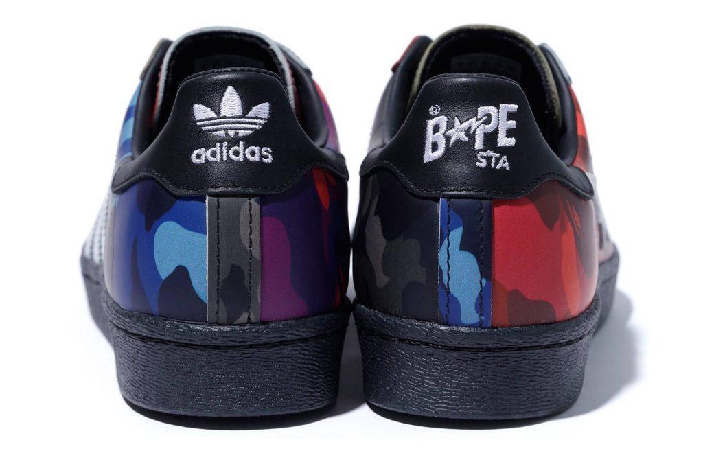 Bape x Adidas Superstar 'Color Camo'