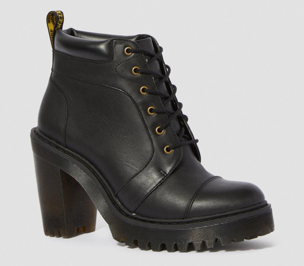combat boots, heel, platform, dr martens