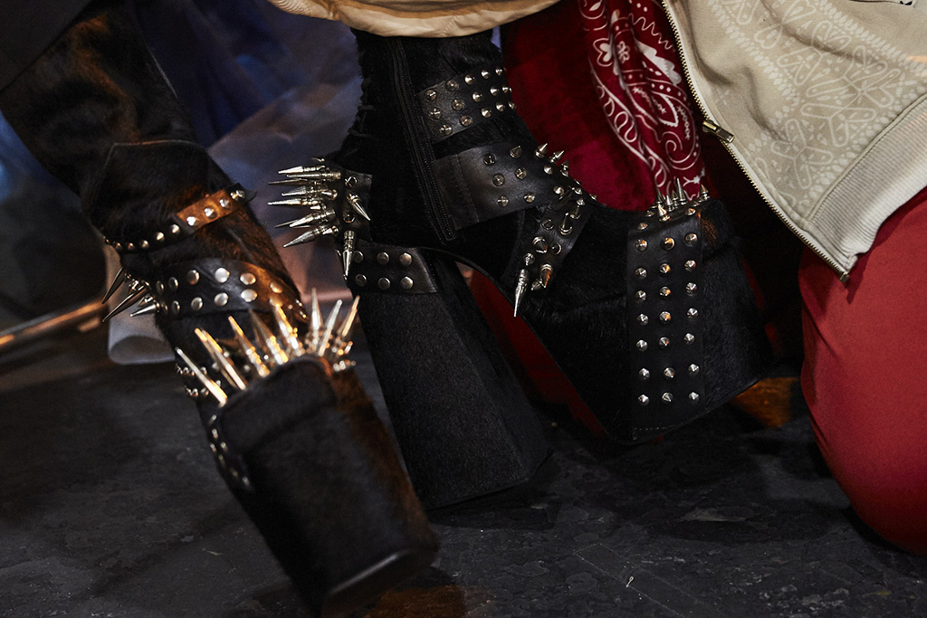 Harris Reed, Roker, studs, platform boots