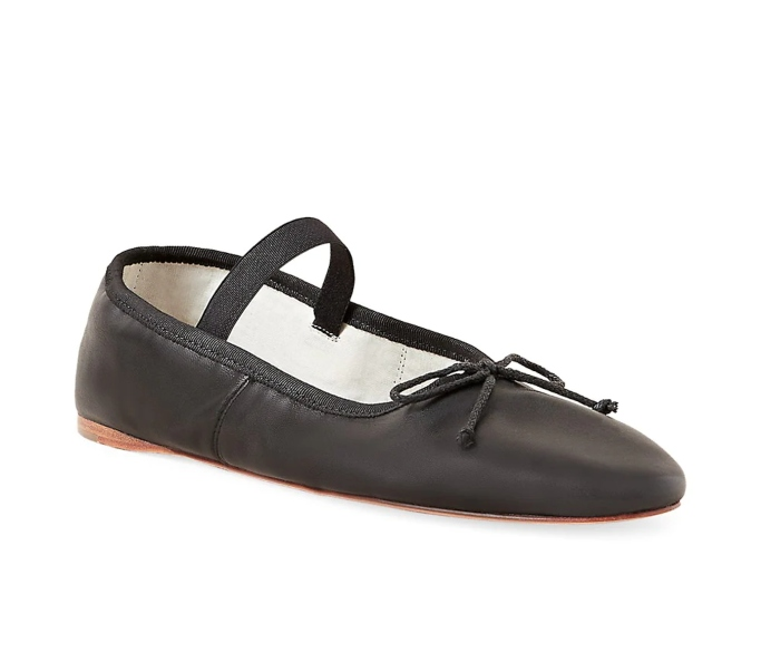 Loeffler Randall Leonie Leather Ballet Flat, shoes you can wear without socks