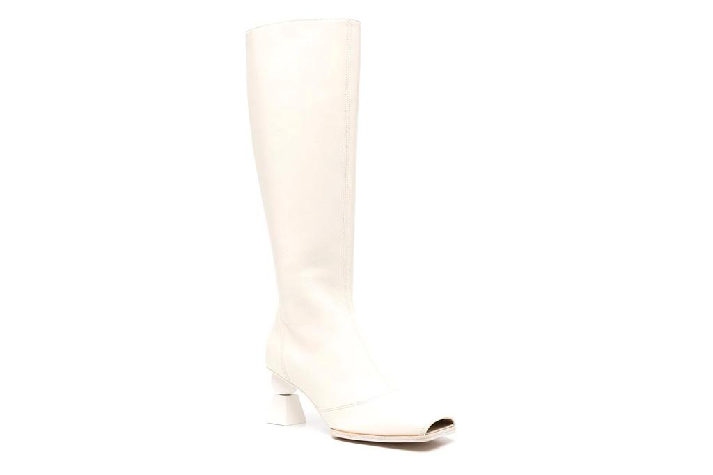 jacquemus, square toe boots
