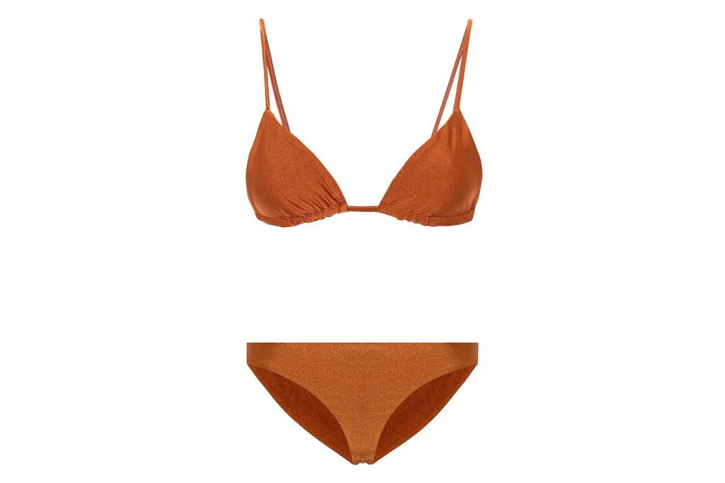 brown bikini, jade swim