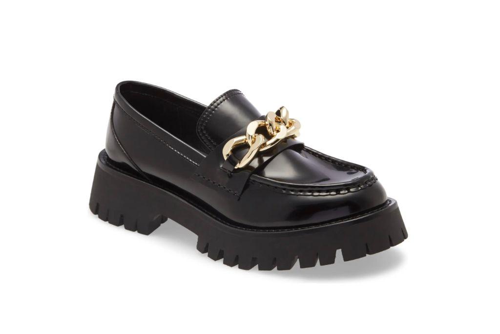 jeffrey campbell recess chain platform loafer