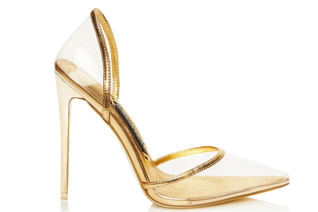 jessica rich, heels, clear, stiletto