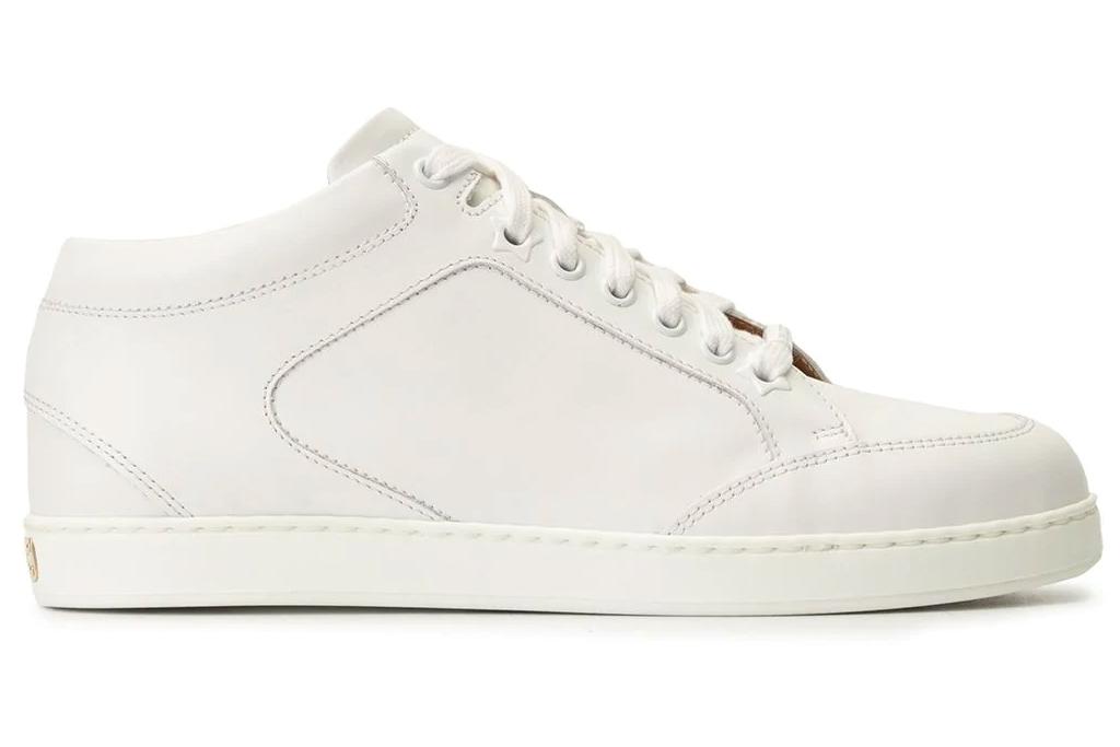 jimmy choo, sneakers, white