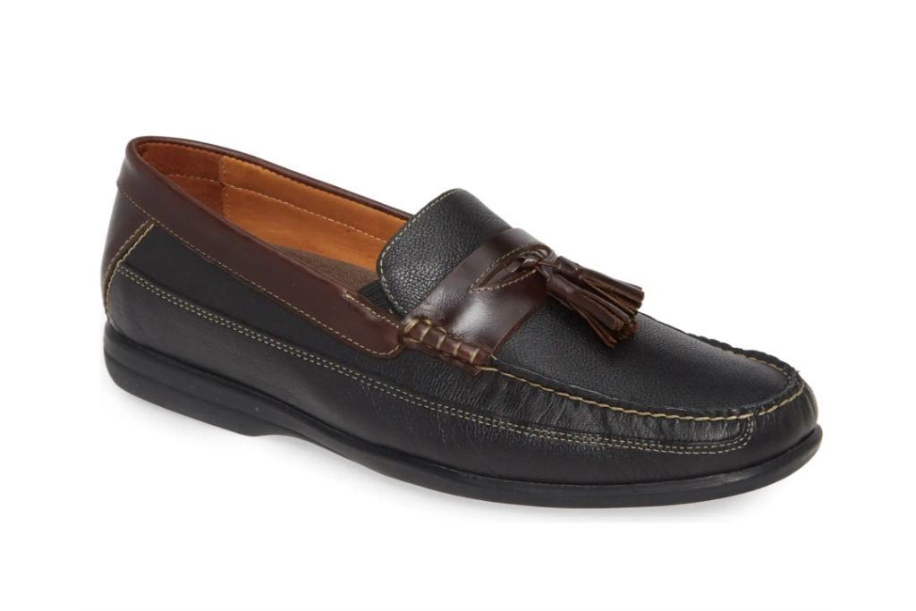 johnston & murphy, locklin tassel loafer
