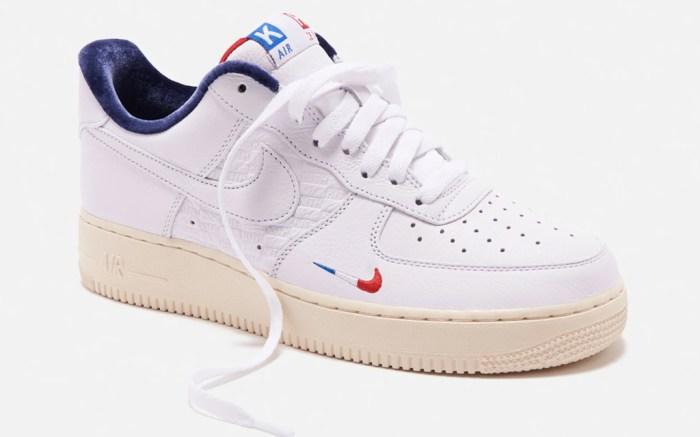 kith, nike, air force 1, paris, sneaker, store, opening