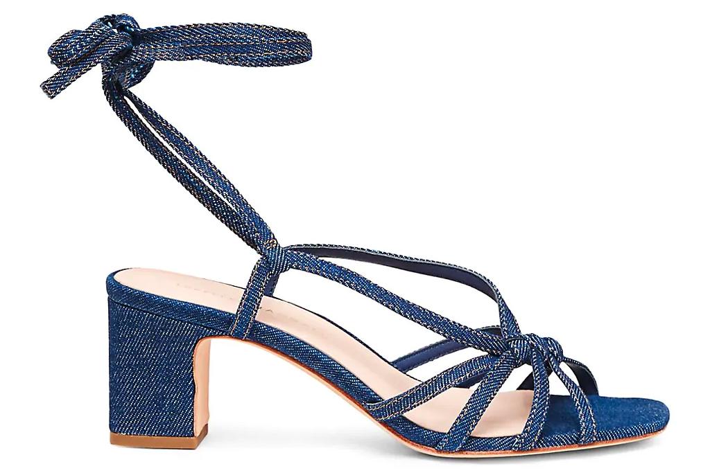 jean sandals, denim, loeffler randall