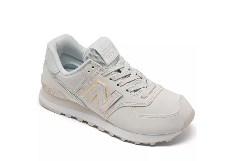 new balance 574, gray sneakers