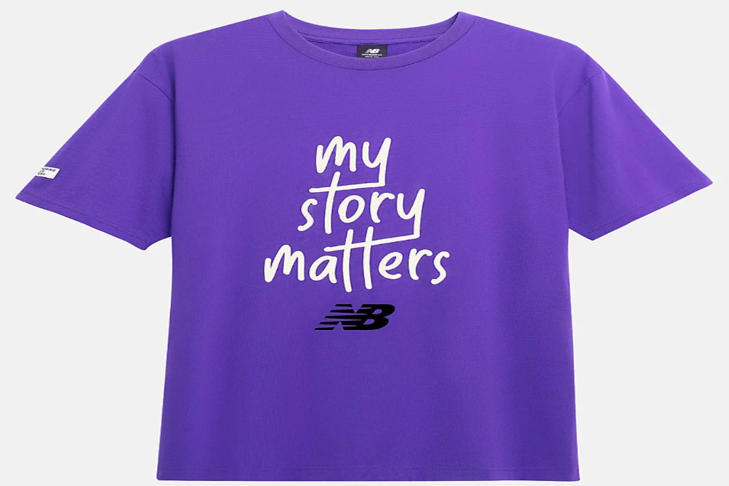 New Balance, Black History Month Collection, My Story Matters T-Shirt