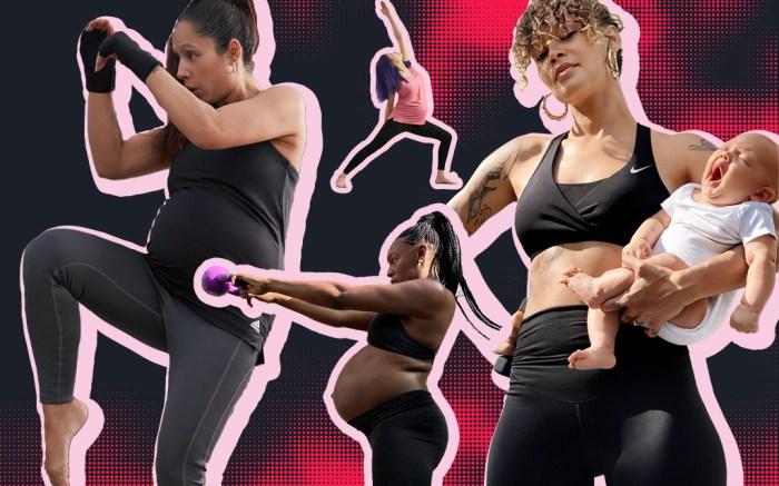 Nike adidas maternity