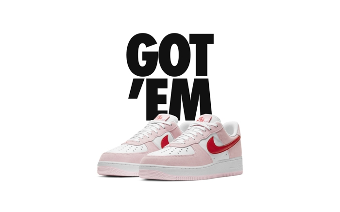 Nike Air Force 1 '07 Valentines Day