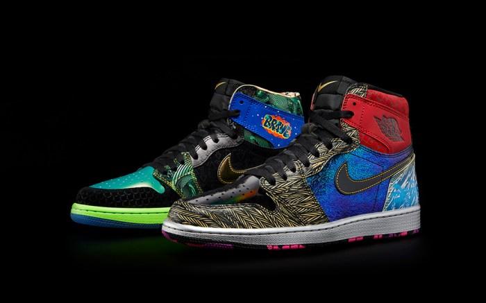 "Nike Doernbecher Freestyle ""What The"" Air Jordan 1"