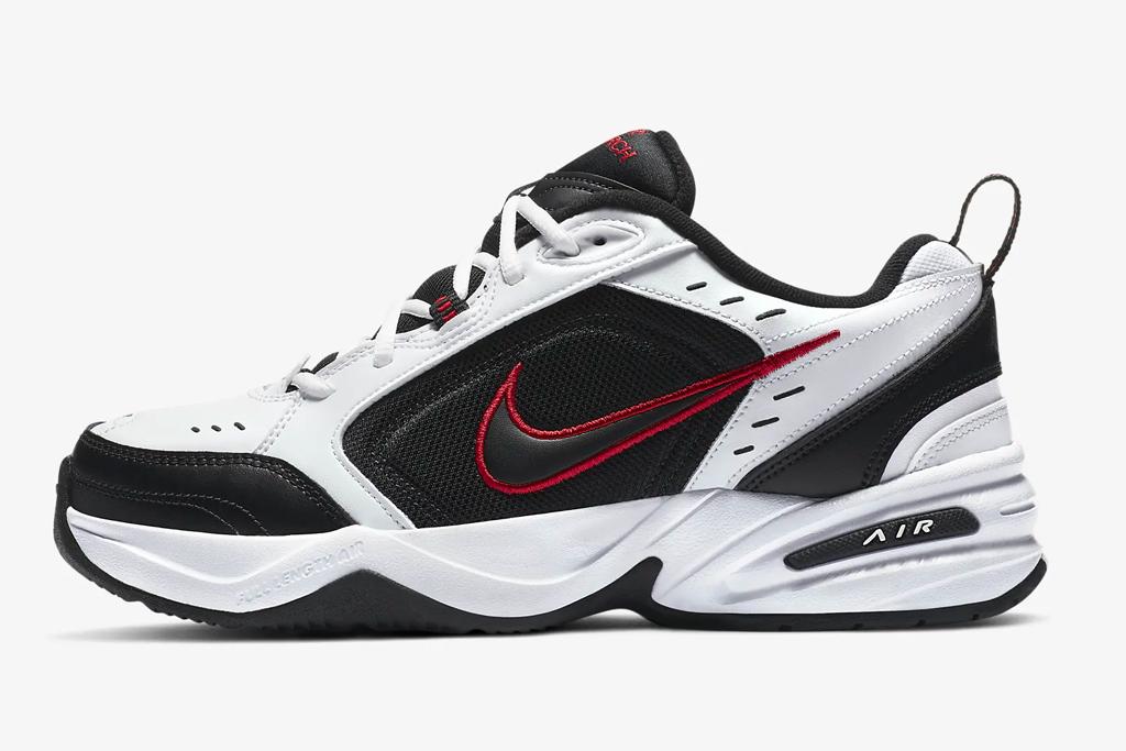 nike, sneakers, air monarch