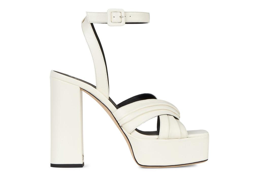 giuseppe zanotti, giuseppe zanotti sinuosa platform, white platform shoes