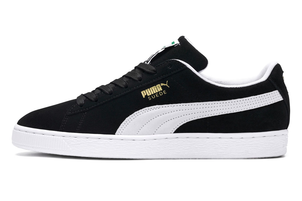 puma, sneakers, suede, black