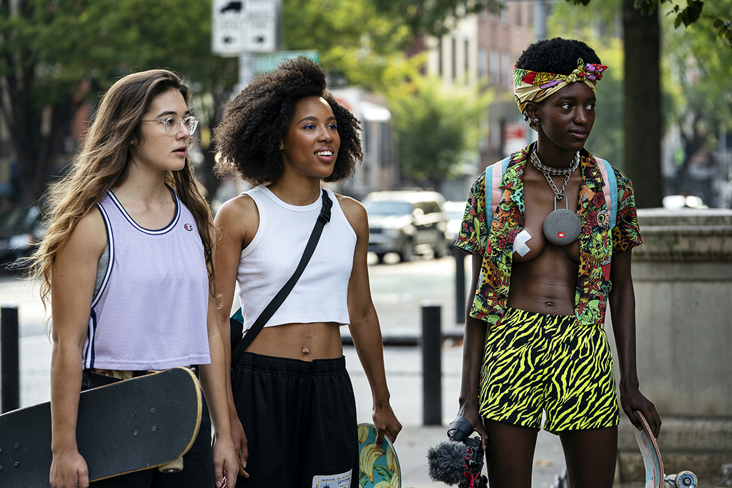 Betty, skateboarding, fashion