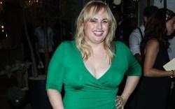 rebel wilson, green dress, west hollywood,