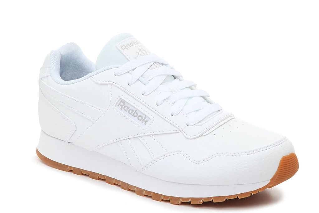 reebok, harman run sneaker, white sneakers