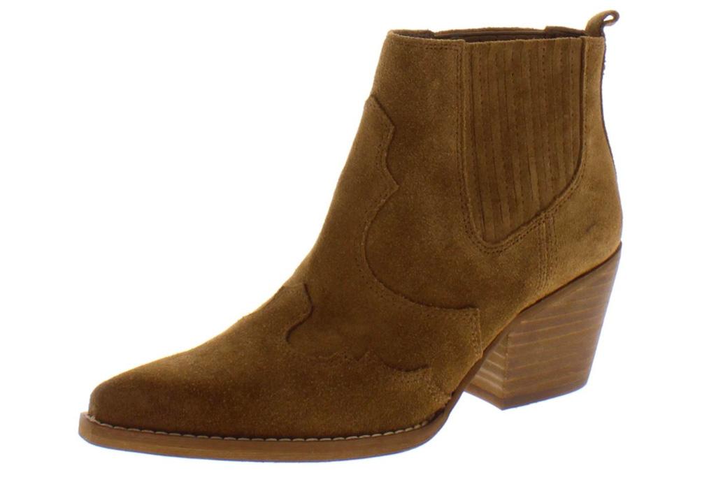 western boots, brown, sam edelman