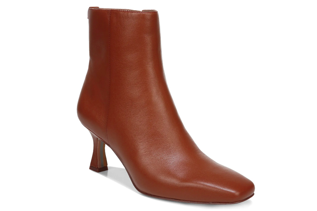 brown boots, heels, sam edelman
