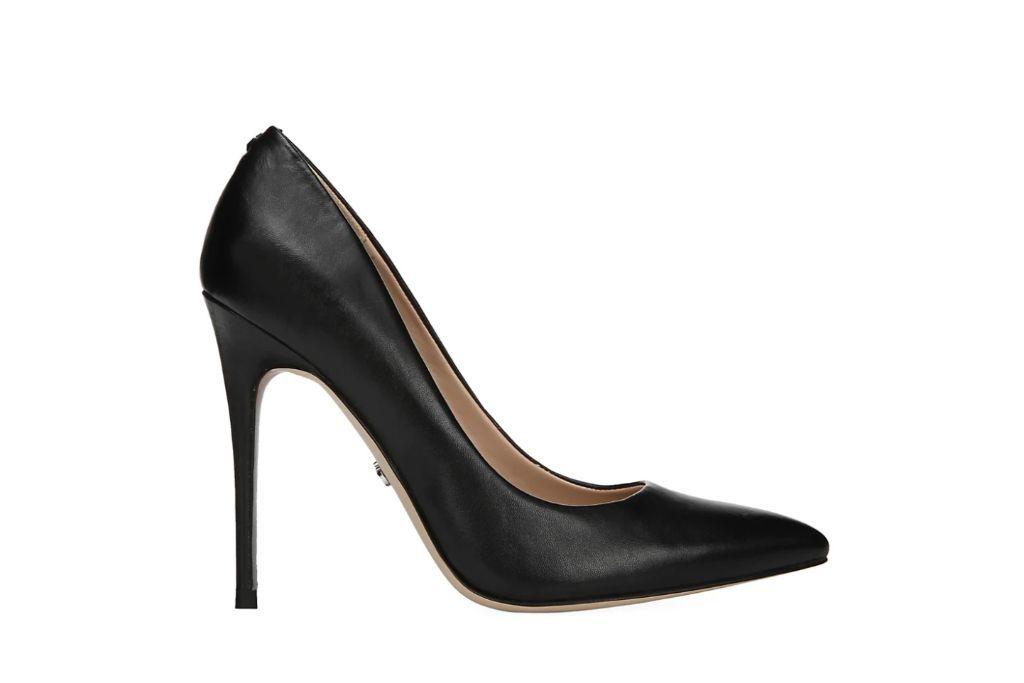 sam edelman, danna leather pumps, black heels
