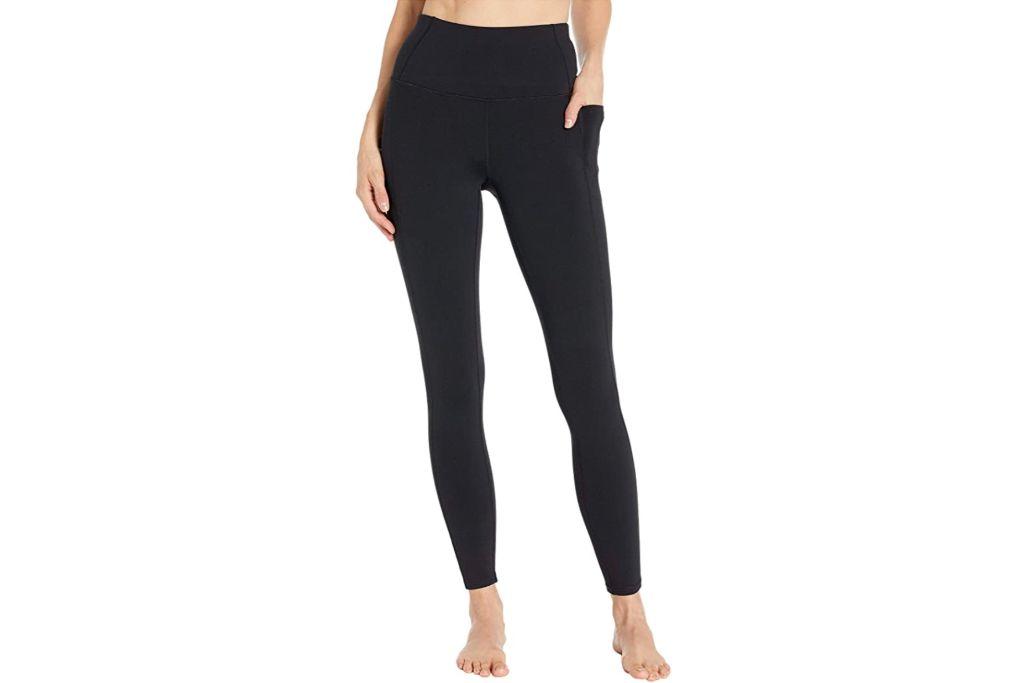 skechers, gowalk leggings, black pants, zappos