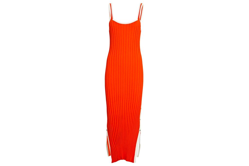 striped dress, tank, solid & striped