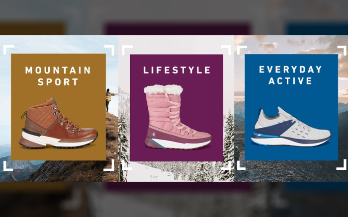 Banner image showing mountain sport, lifestyle