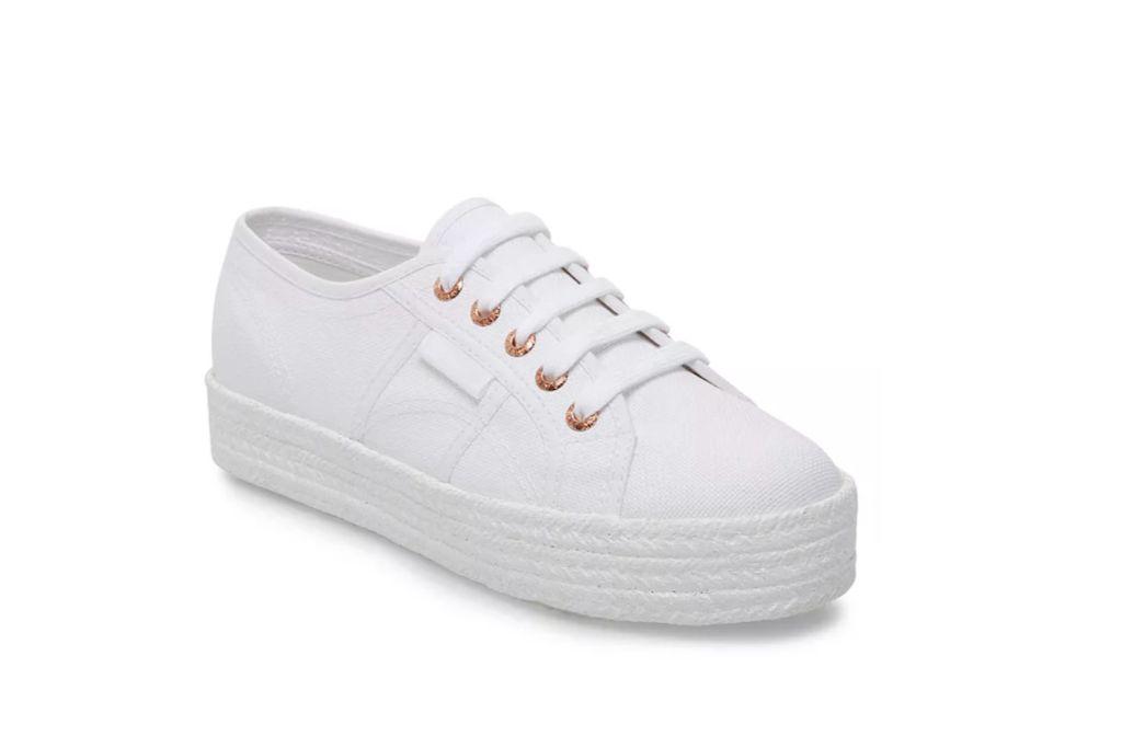superga, womens 2730 cotropew platform sneakers