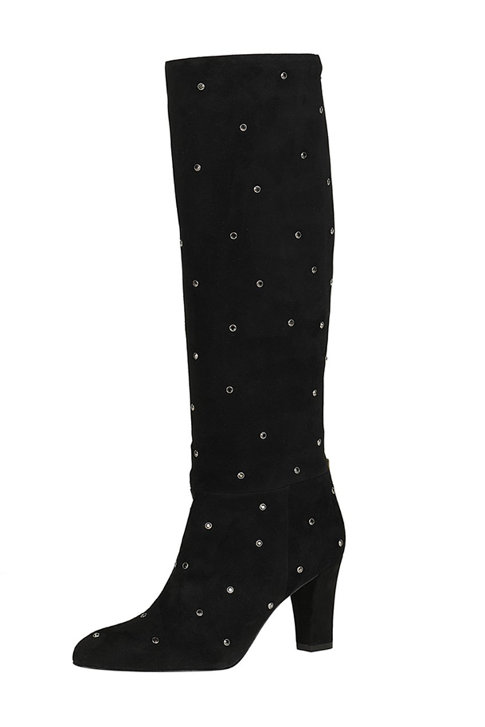 the busker boot, sjp collection boots, studded boots