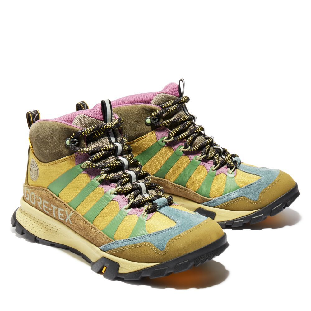 timberland, bee line, billionaire boys club, pharrrell, sneakers, hiker, boots, yellow, sale