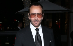 Tom Ford, Black Suit, Beverly Hills,