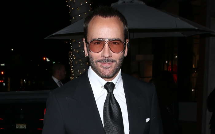 Tom Ford, Black Suit, Beverly Hills, Mr. Chow