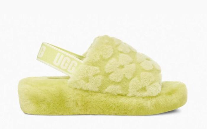 ugg fluff yeah slide, ugg fluff yeah poppy, yellow fluff yeah slide