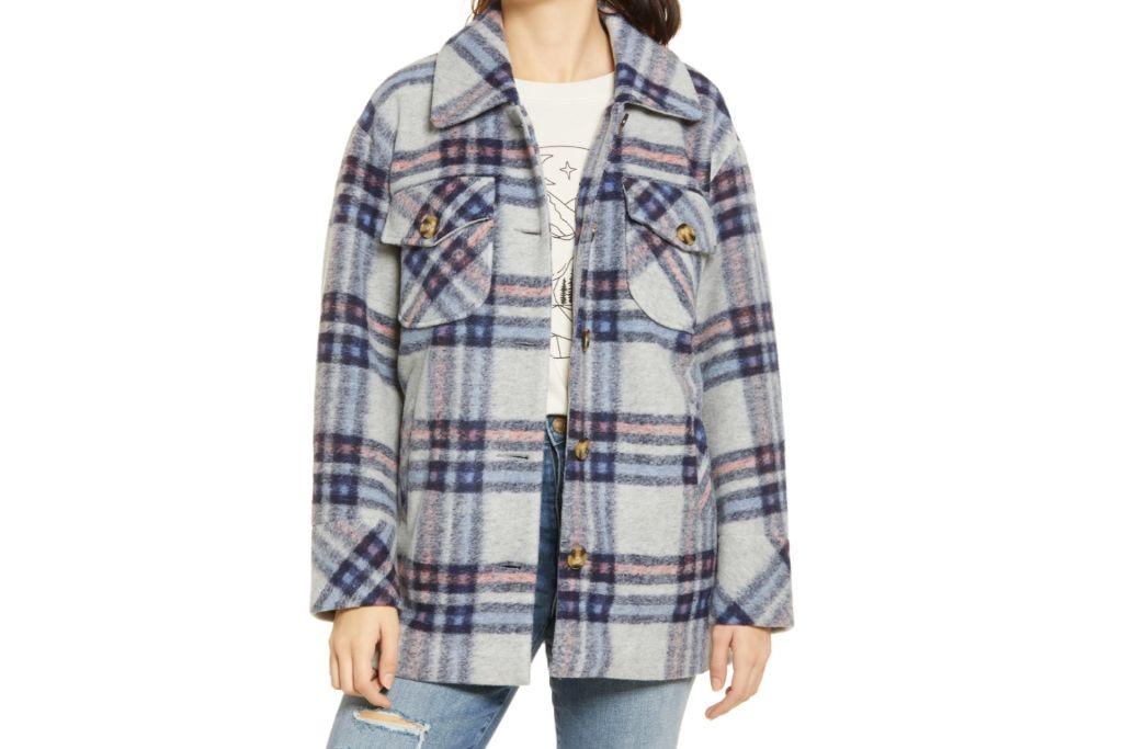 vigoss, plaid jacket, nordstrom