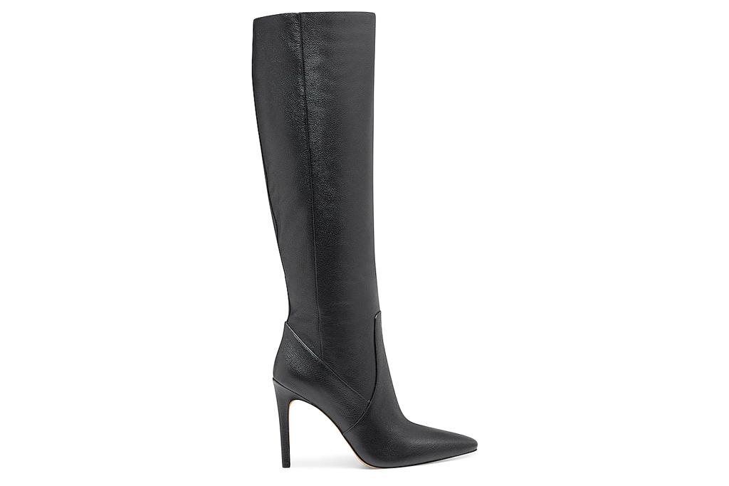 black boots, stilettos, vince camuto