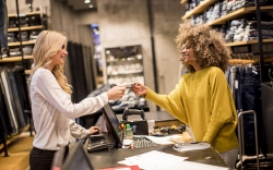 women working retail jobs