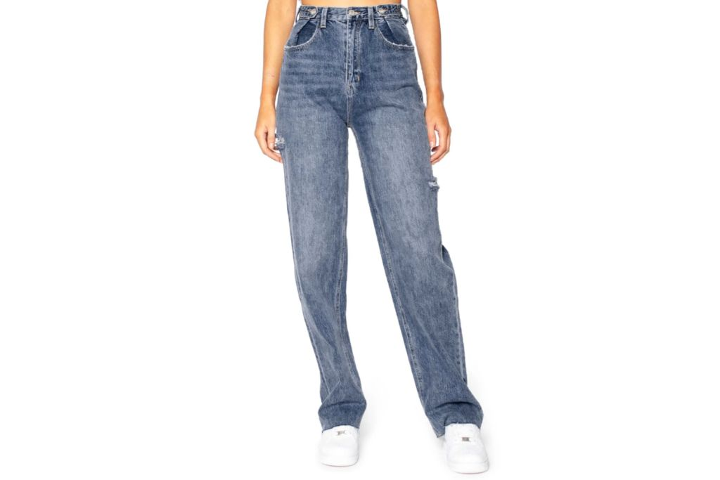 ziggy denim hi and loose relaxed jeans