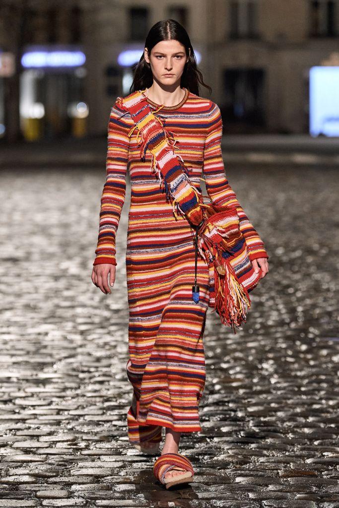 gabriela hearst, chloé, chloe, chloé fall 2021, chloe fall 2021, pfw, paris fashion week
