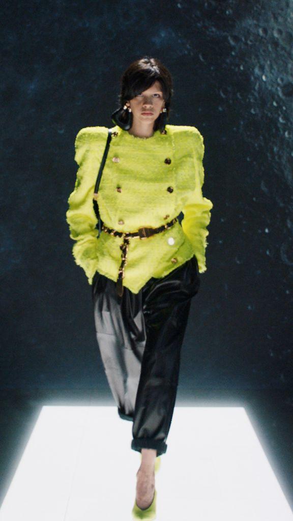 balmain, balmain fall 2021, fall 2021, pfw, paris fashion week