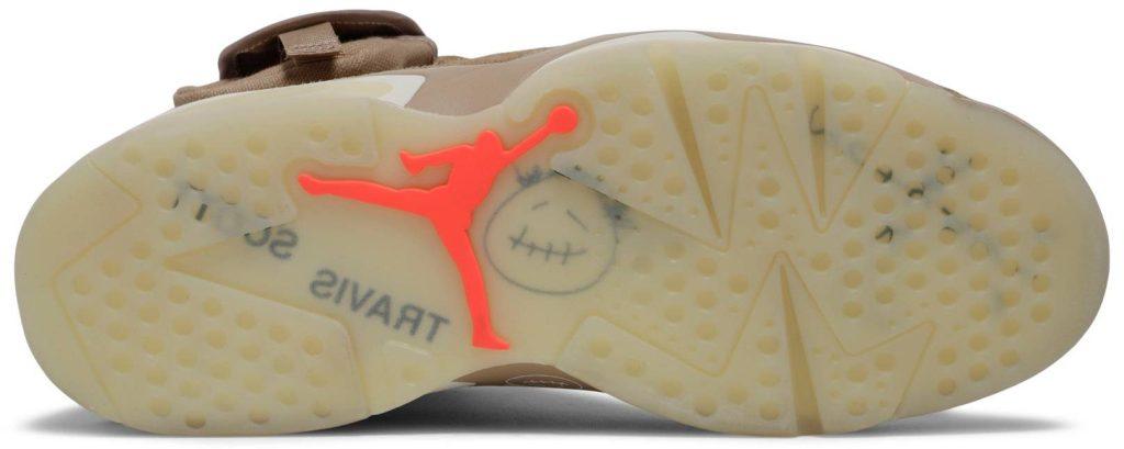 Travis Scott x Air Jordan 6 Retro 'British Khaki'