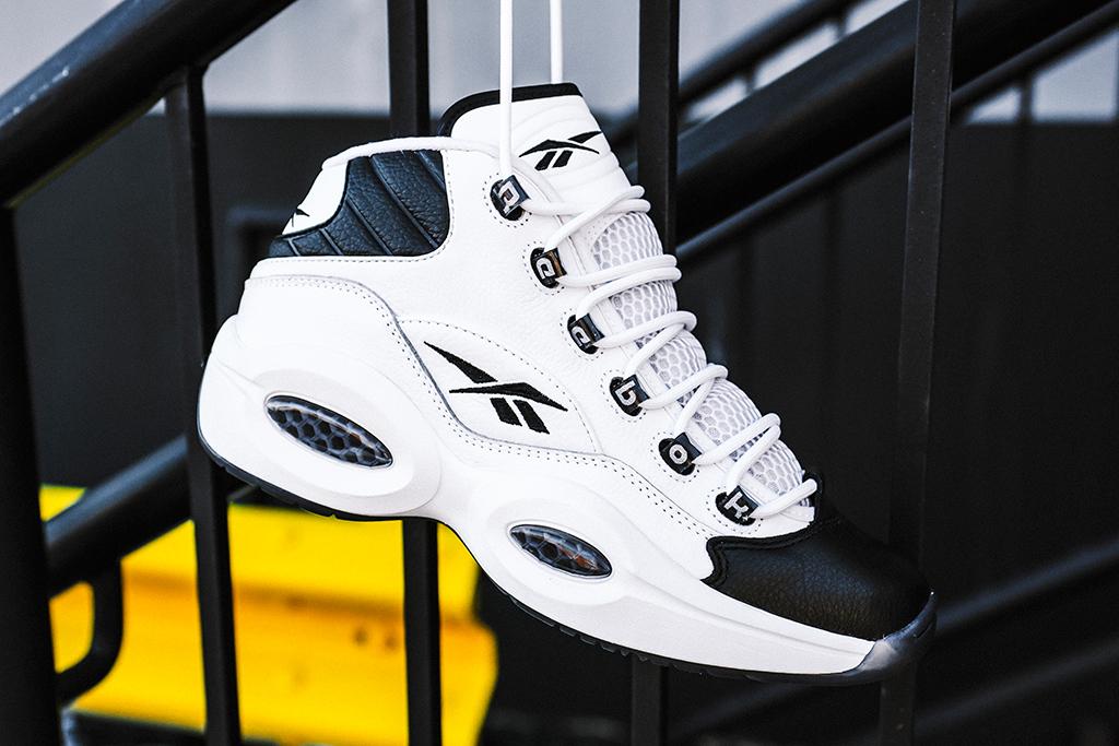 reebok why not us, allen iverson x reebok, reebok question mid sneaker release