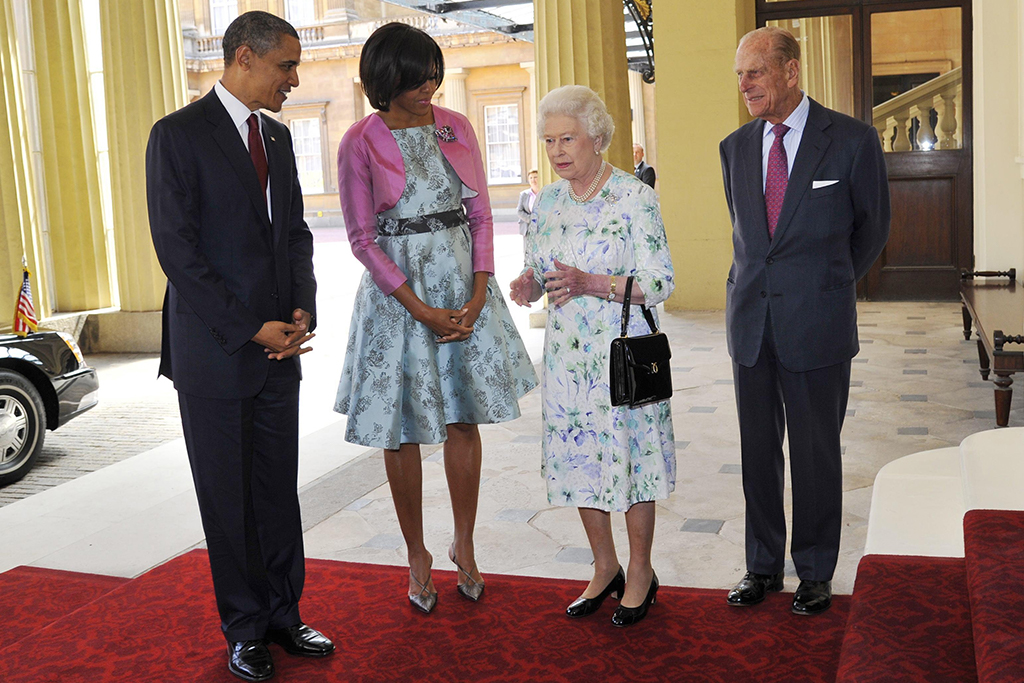 the obamas and the queen, first lady style, michelle obama style