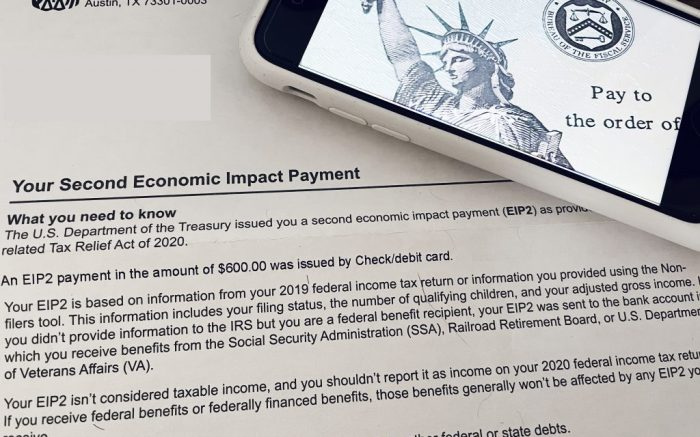 Notice of new stimulus check payments have begun to arrive.