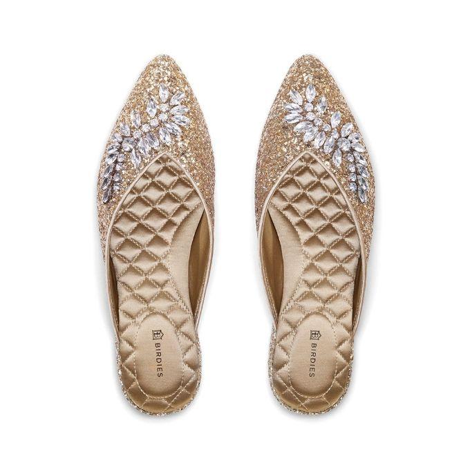 Birdies swan, best flat wedding shoes