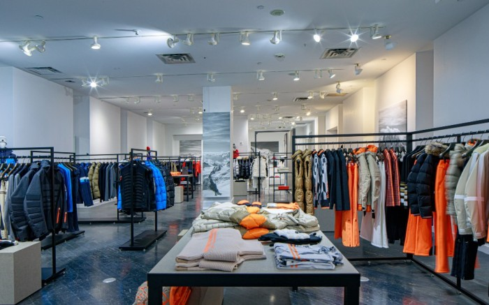 Inside the Bogner store in Toronto through its partnership with FlagshipRTL