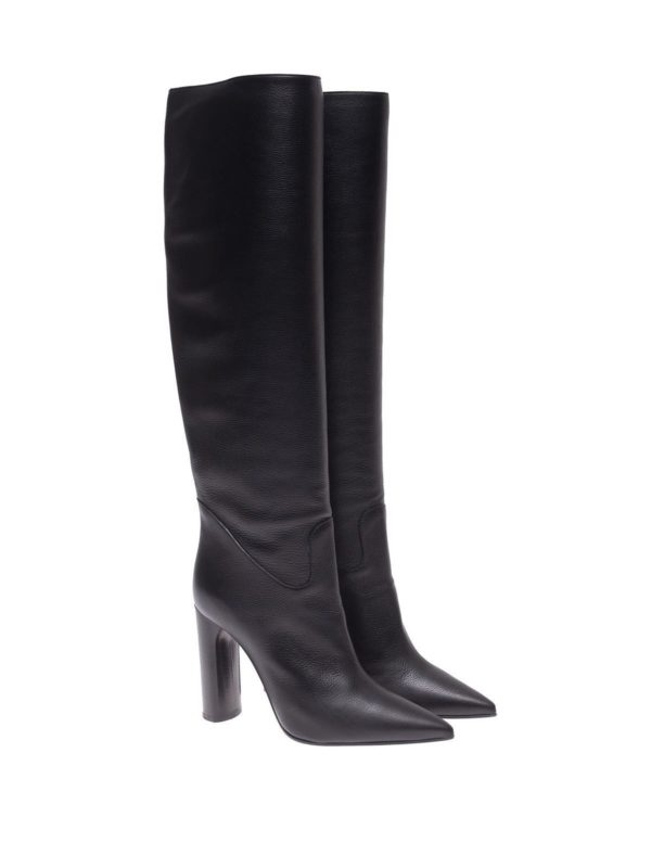casadei boot, black boots